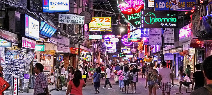 Pattaya Walking Street Otelleri
